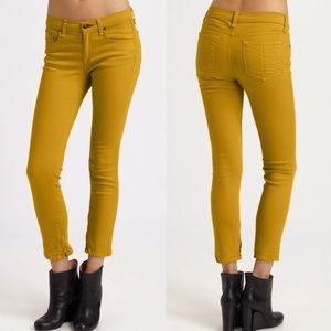 Rag & Bone Jean Womens Skinny Leg Zipper Capri